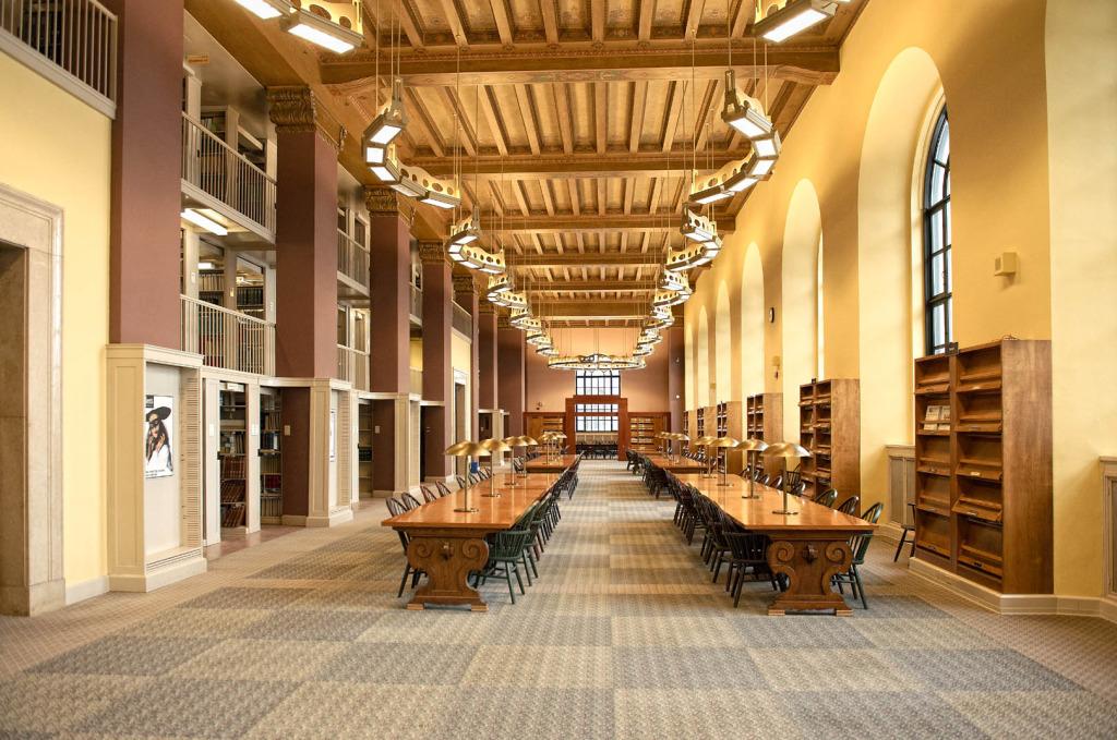 first floor reading room
