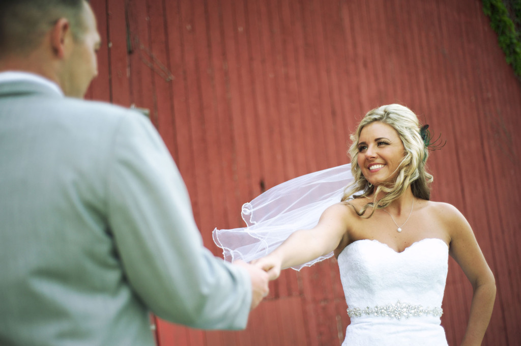 Bride and Groom Case Barlow Farm Hudson, Ohio