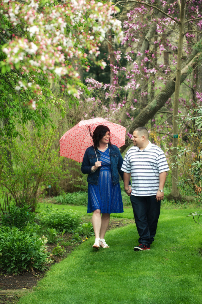Schoepfle Garden engagement photos