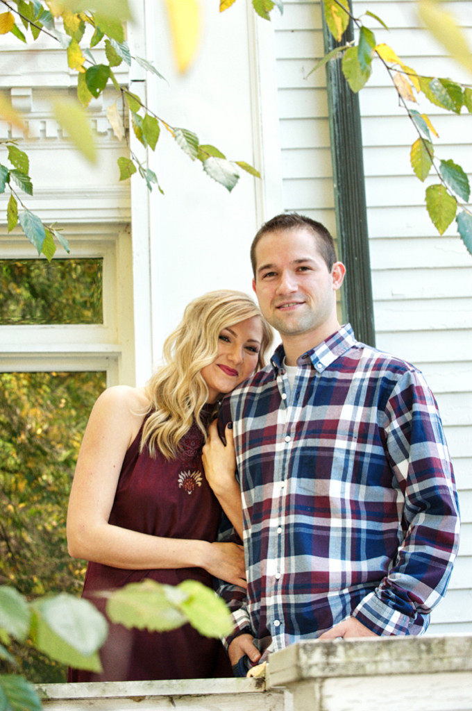 Mooreland Mansion engagement photos