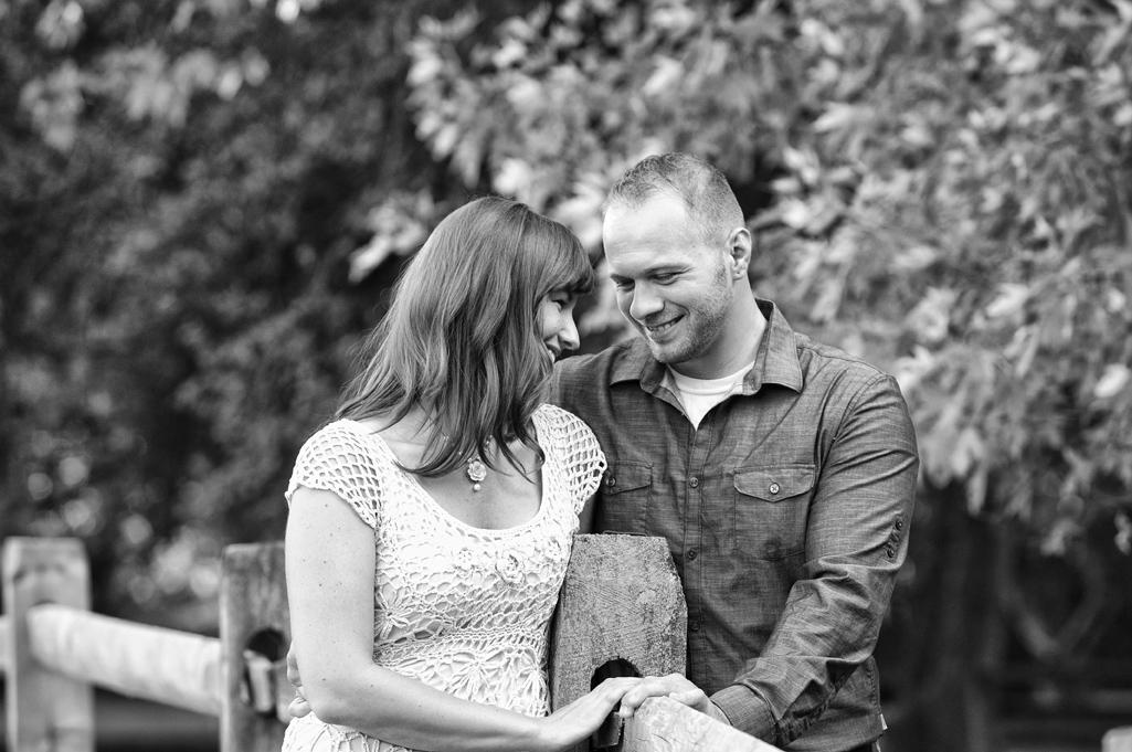 natalie and adam engagement photos at penitentary glen