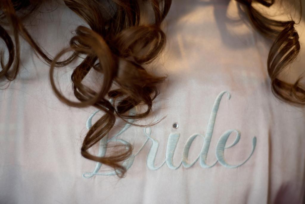 wedding day bride
