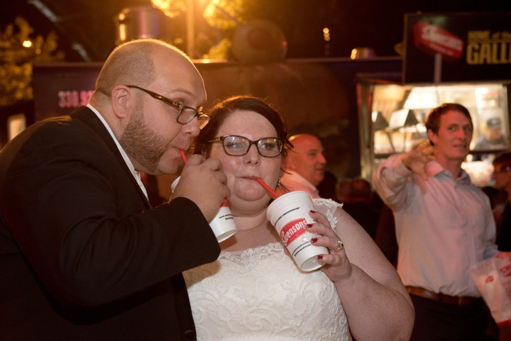 swensons food truck wedding